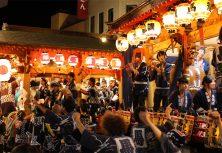 大館市:大館神明社例祭の曳山車行事