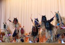 男鹿市・男鹿北中学校(なまはげ太鼓クラブ)